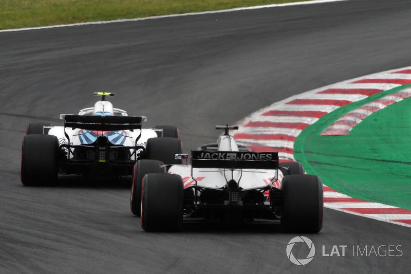 Grosjean 3. antrenmanda Williams tarafından engellendikten sonra