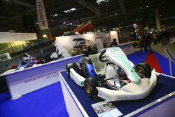A kart on the MSA stand