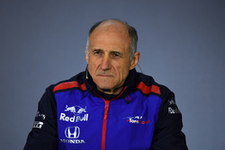 Franz Tost, Scuderia Toro Rosso Team Principal in the Press Conference