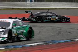 Остановка на трассе: Эдоардо Мортара, HWA Team, Mercedes-AMG C63 DTM