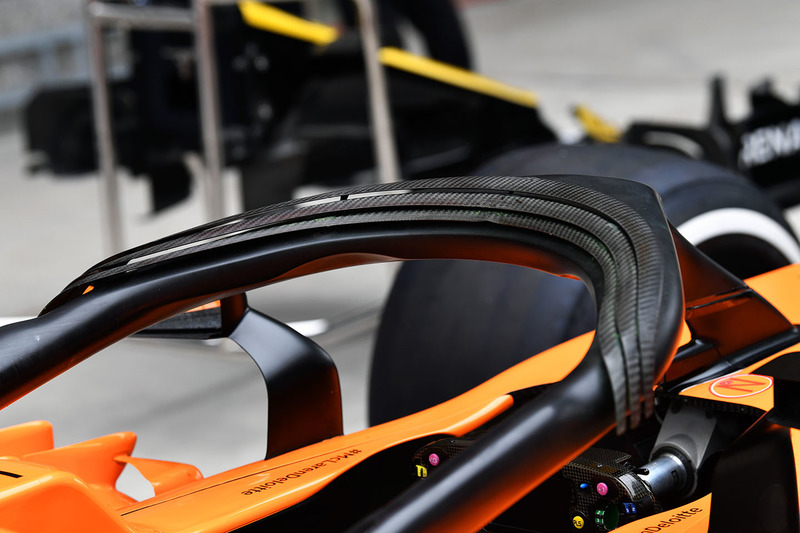 McLaren MCL33 halo