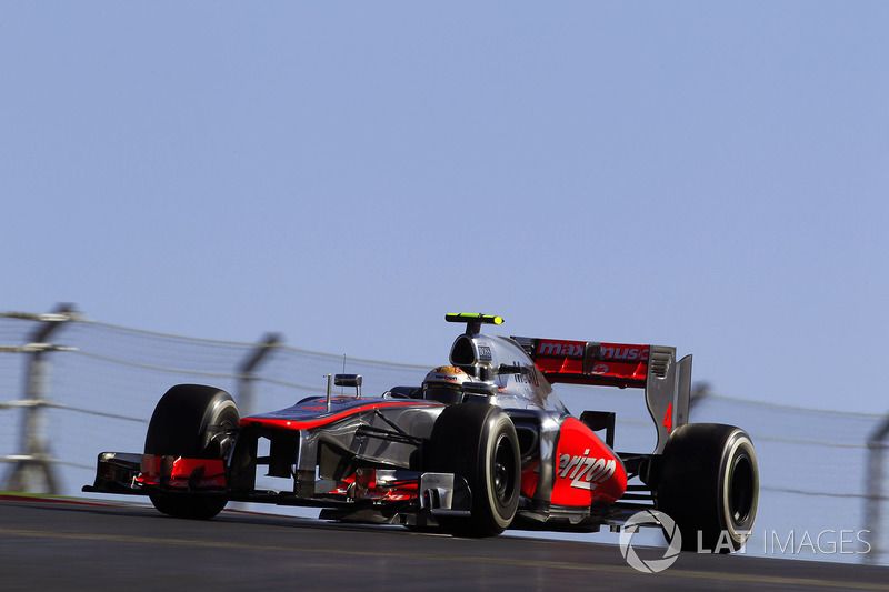 2012 - Austin : Lewis Hamilton, McLaren-Mercedes MP4-27