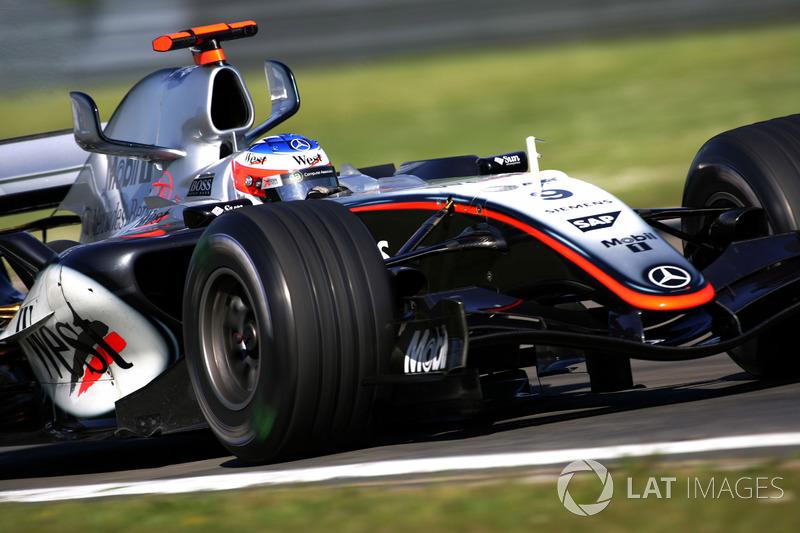 2005: McLaren MP4-20 Mercedes (десять побед, 2-е место в КК)