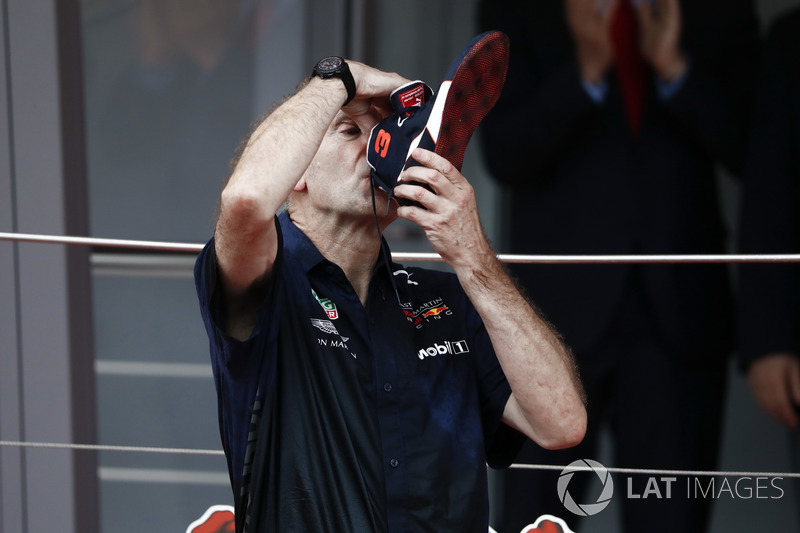 Shoey Adrian Newey