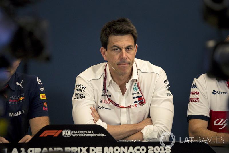 Toto Wolff, Director de Motorsport de Mercedes AMG F1 en la Conferencia de prensa