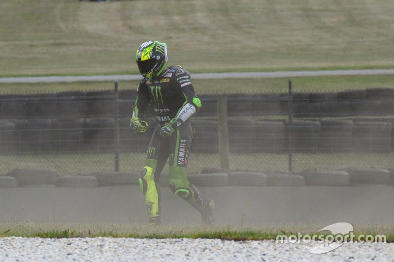 Pol Espargaro, Tech 3 Yamaha crash