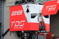 TDS Racing pit detalle