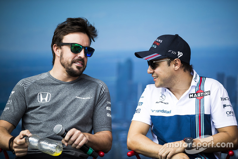 Fernando Alonso, McLaren, Felipe Massa, Williams