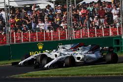 Фелипе Масса, Williams FW40, и Лэнс Стролл, Williams FW40