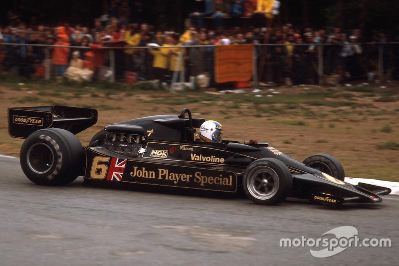 Гуннар Нільссон (Lotus) - Бельгія, 1977