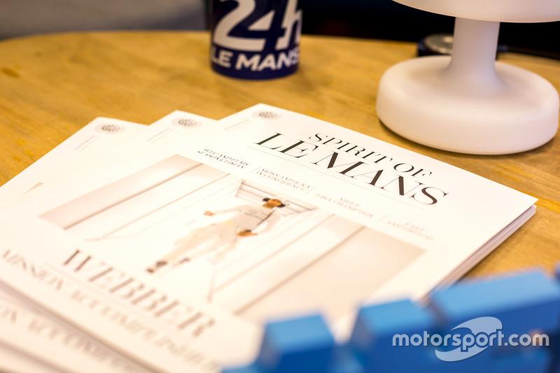 Revista Spirit of Le Mans presentada por Mark Webber