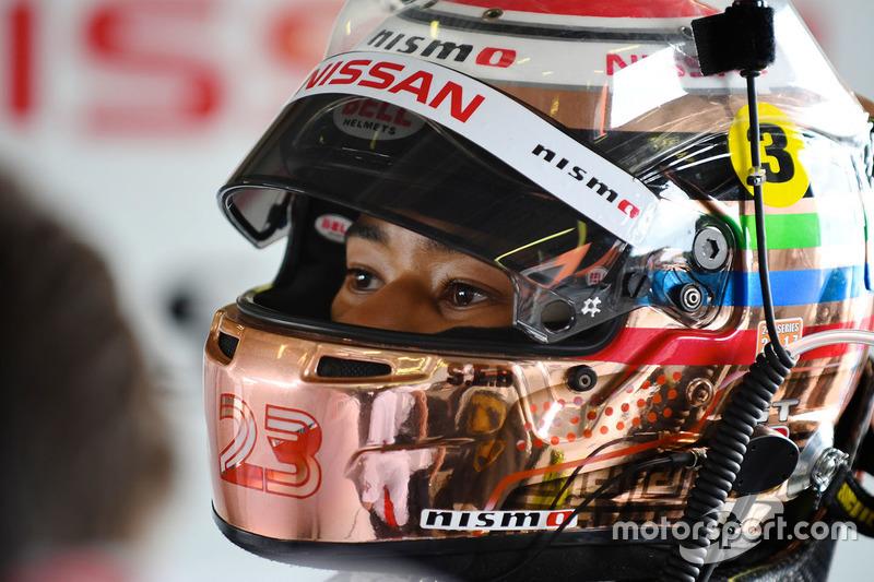 #24 Nissan Motorsport, Nissan GT-R Nismo GT3: Jann Mardenborough