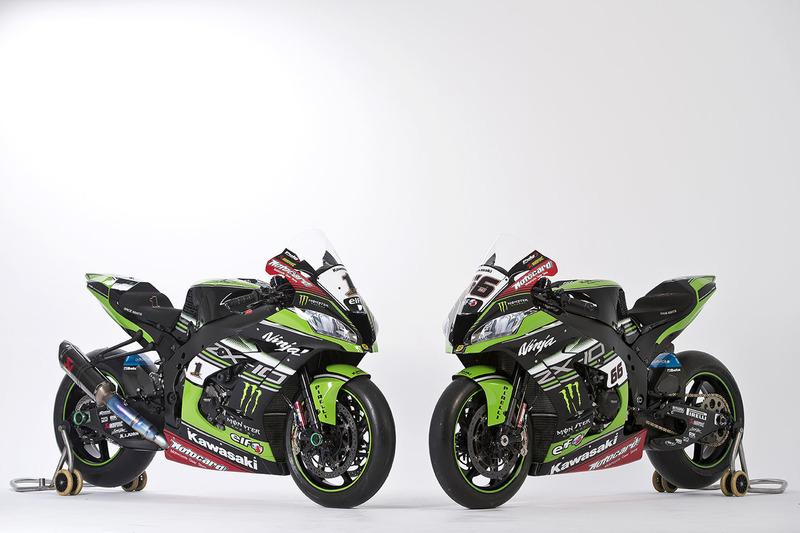 Le moto di Jonathan Rea, Tom Sykes, Kawasaki Racing, Ninja ZX-10RR