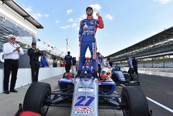 Le vainqueur Nico Jamin, Andretti Autosport