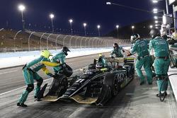 J.R. Hildebrand, Ed Carpenter Racing Chevrolet pit stop