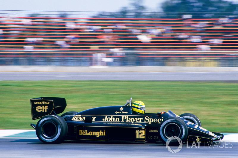 1986. Первый уход из Формулы 1