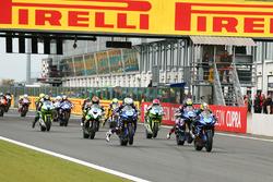 Le départ de la course