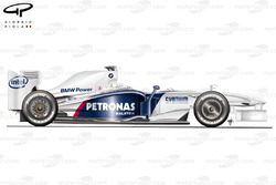 BMW Sauber F1.09 2009 Melbourne side view