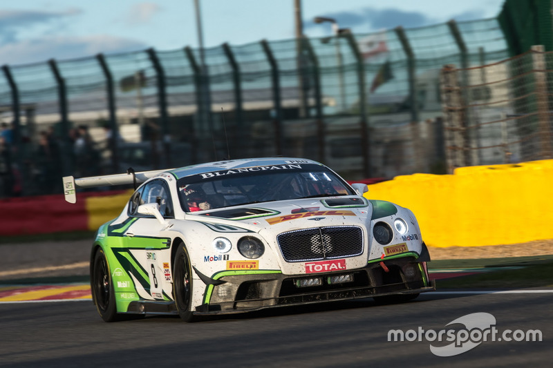 2. #8 Bentley Team M-Sport, Bentley Continental GT3