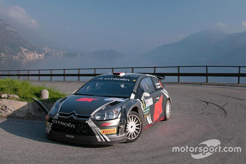 Роберт Кубіца, Емануель Іглесі, Citroën C4 WRC Rally Trofeo ACI Como 2012