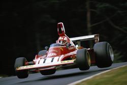 Clay Regazzoni, Ferrari, menuruni Pflanzgarten