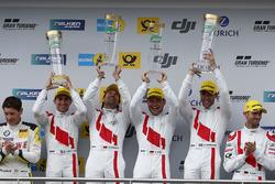 Podyum: 1. #29 Audi Sport Team Land-Motorsport, Audi R8 LMS: Christopher Mies, Connor De Phillippi, Markus Winkelhock, Kelvin van der Linde