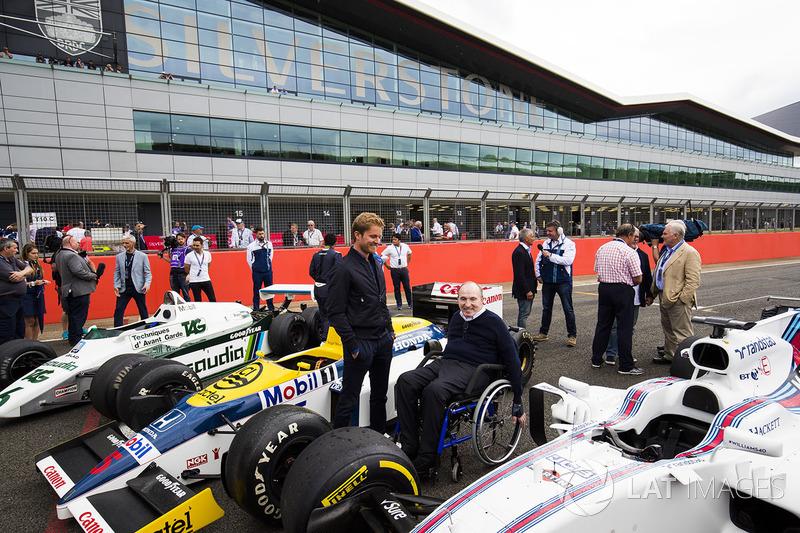 Sir Frank Williams, Nico Rosberg, Williams FW08, FW11 ve Williams FW40