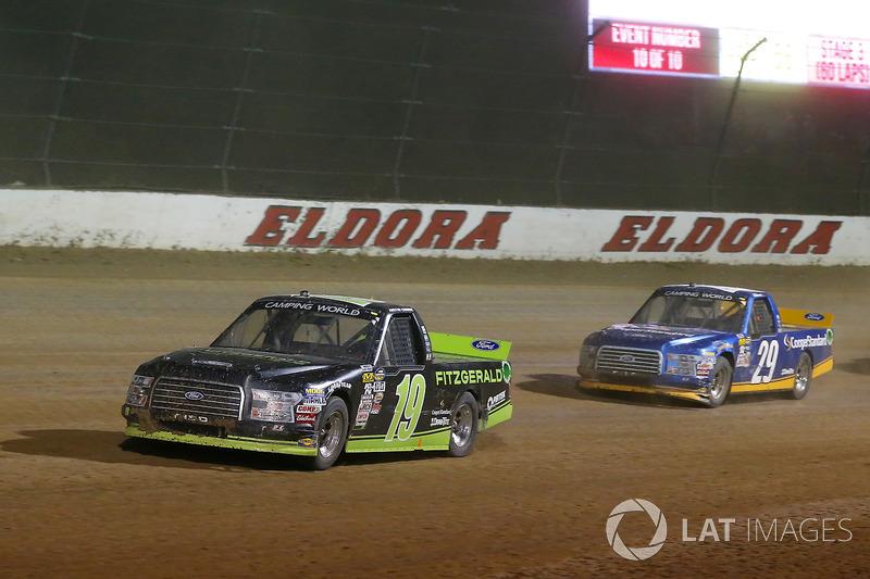 Austin Cindric, Brad Keselowski Racing Ford y Chase Briscoe, Brad Keselowski Racing Ford