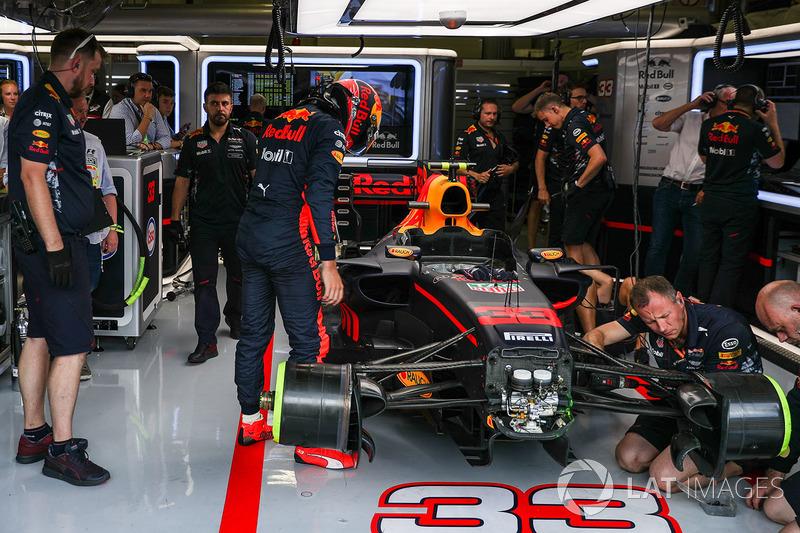 Auto von Max Verstappen, Red Bull Racing RB13