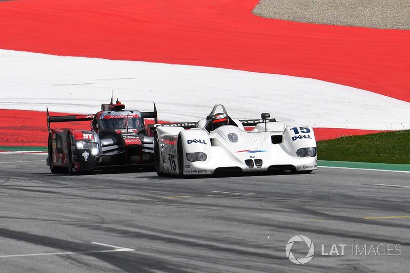 Герхард Бергер, BMW V12 LMR, Том Крістенсен, Audi R18
