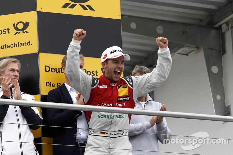 Подіум: третє місце Майк Рокенфеллер, Audi Sport Team Phoenix, Audi RS 5 DTM