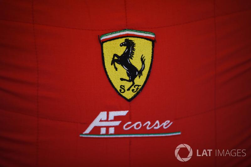 Логотип AF Corse Ferrari