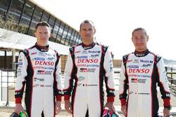 Toyota Racing: Майк Конвей, Стефан Сарразен и Камуи Кобаяши