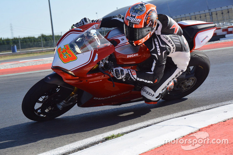 Marco Melandri, Aruba.it Racing, Ducati