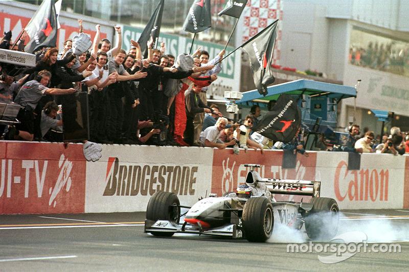 1998: Mika Hakkinen, McLaren-Mercedes