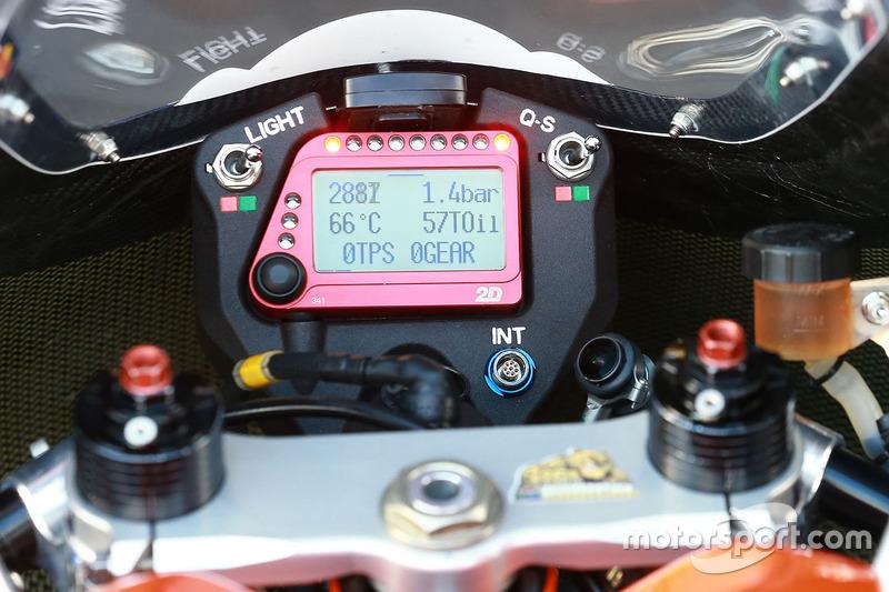 Red Bull KTM Ajo bike detail