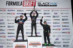 Podium: winner Matt Field, second place Chris Forsberg, third place Alec Hohnadell
