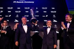 Championship winning team Alain Prost and Jean-Paul Driot, Formula E Awards Gala