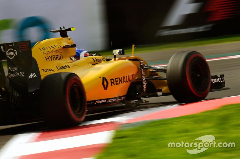 22: Jolyon Palmer, Renault Sport F1 Team RS16 (No tomó parte en la clasificación)
