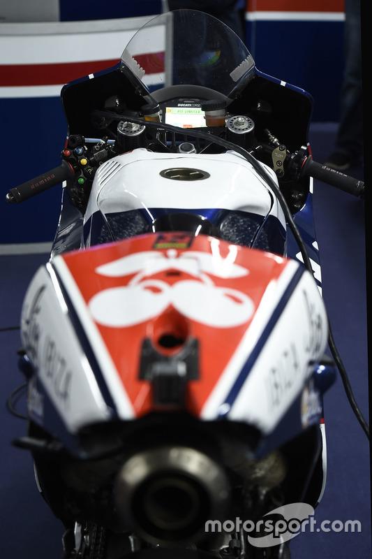 Bike von Mike Jones, Avintia Racing