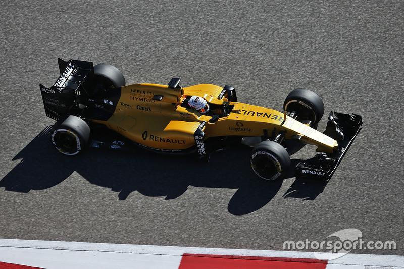11. Kevin Magnussen, Renault Sport F1 Team RS16