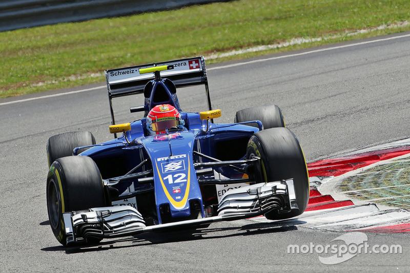 Felipe Nasr, Sauber C35, Ausfall