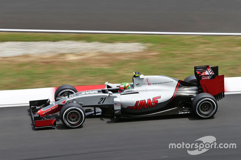Esteban Gutierrez, Haas F1 Team VF-16, Ausfall