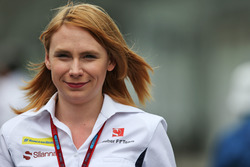 Ruth Buscombe, Sauber F1 Team Trackside Strategy Engineer