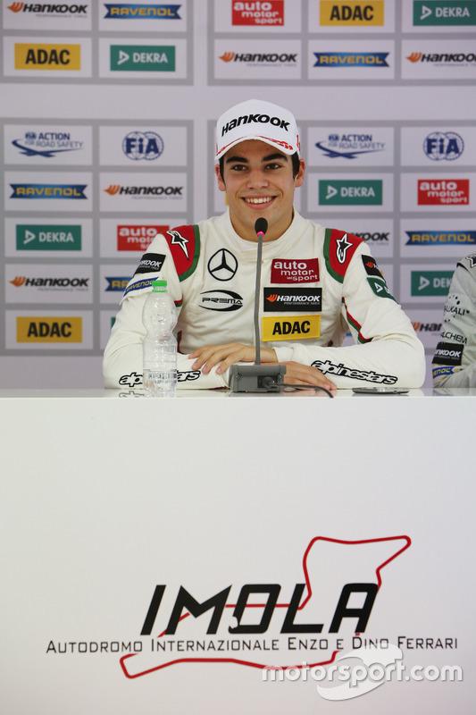 Press Conference: Lance Stroll, Prema Powerteam Dallara F312 – Mercedes-Benz