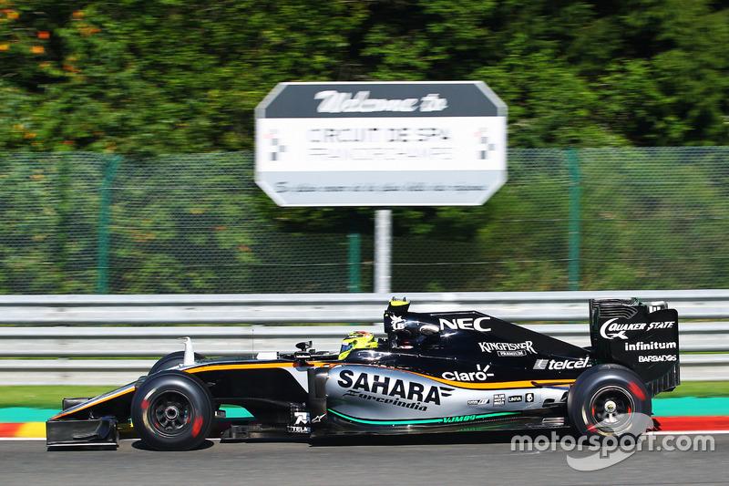 6. Sergio Perez, Sahara Force India F1 VJM09