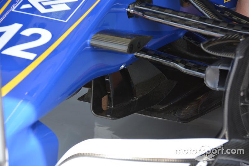 Sauber C35: Detail