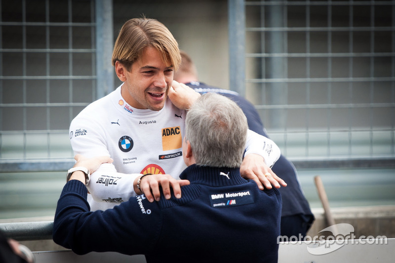 Augusto Farfus, BMW Team MTEK, BMW M4 DTM with Jens Marquardt, BMW Motorsport Director