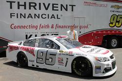 Michael McDowell, Circle Sport Leavine Family Racing esquema especial retro