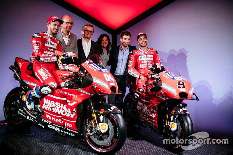 Presentación del equipo Ducati 2019